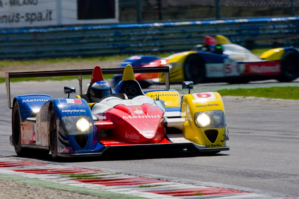 A great start for the Oreca-Courage LC70s .. - Chassis: LC70-10   - 2008 Le Mans Series Monza 1000 km