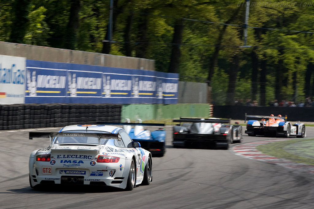 A race to forget for IMSA Performance - Chassis: WP0ZZZ99Z8S799932   - 2008 Le Mans Series Monza 1000 km