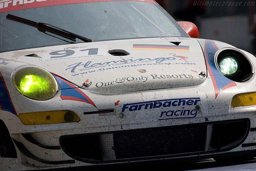 Battle scars - Chassis: WP0ZZZ99Z7S799924   - 2008 Le Mans Series Monza 1000 km