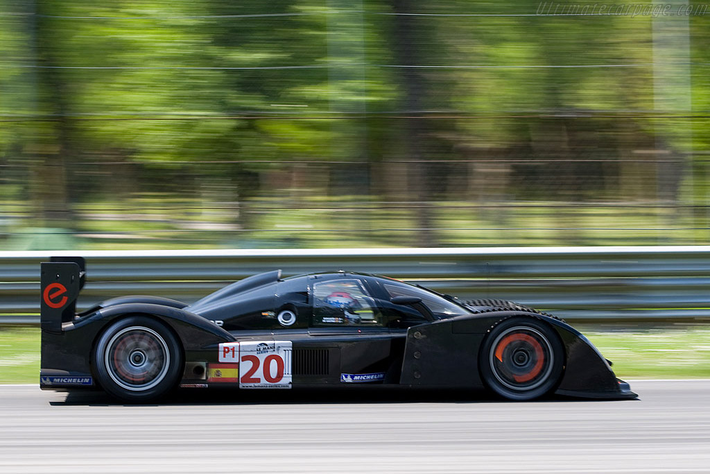 Black with red accents - Chassis: 001   - 2008 Le Mans Series Monza 1000 km