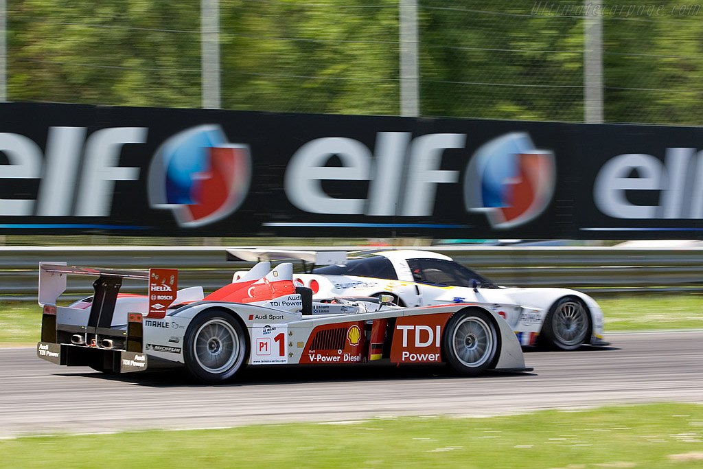 Capello and McNish fought back from 42nd to 6th - Chassis: 204   - 2008 Le Mans Series Monza 1000 km