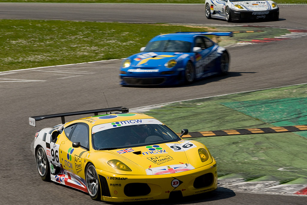 Early GT2 leaders - Chassis: 2408   - 2008 Le Mans Series Monza 1000 km