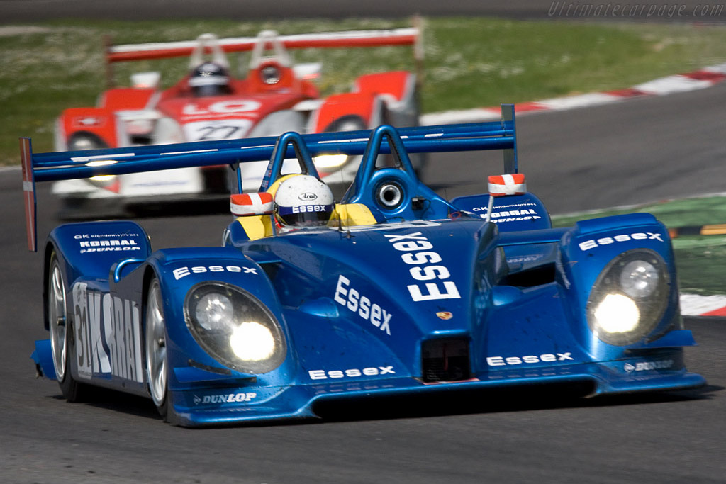 First and third in LMP2 - Chassis: 9R6 709 - Entrant: Team Essex - Driver: John Nielsen / Casper Elgaard  - 2008 Le Mans Series Monza 1000 km