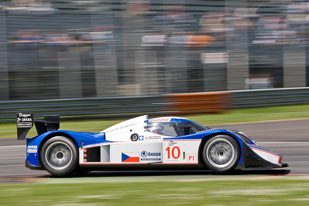 Flying in the opening stages - Chassis: B0860-HU01   - 2008 Le Mans Series Monza 1000 km