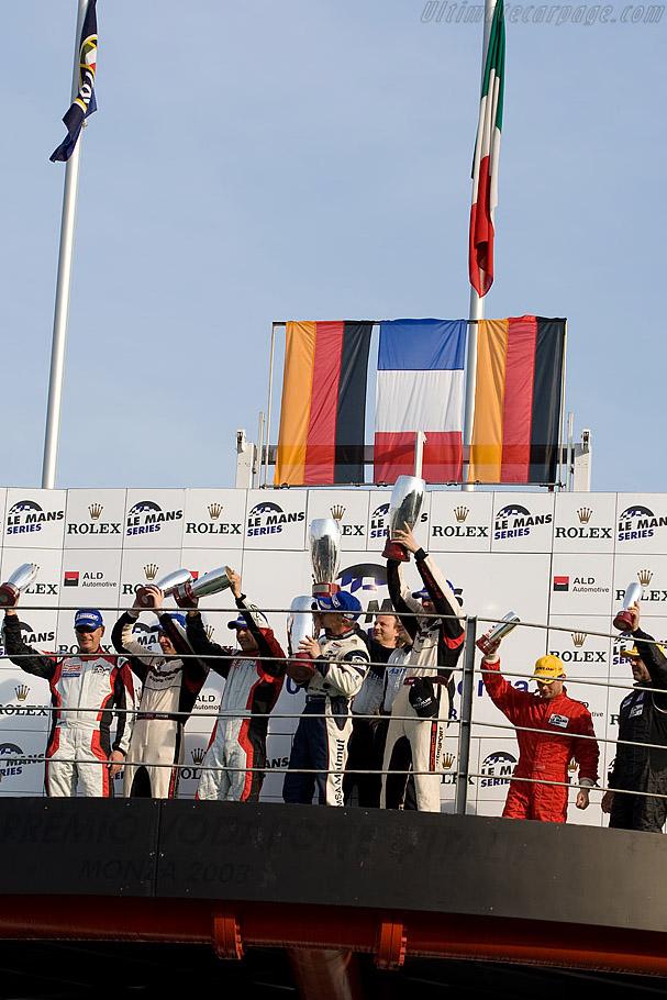 GT2 Podium    - 2008 Le Mans Series Monza 1000 km