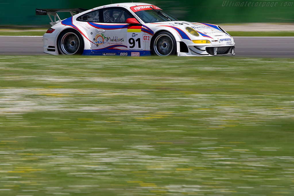 Heading for the first LMS win for the 997 'EVO' - Chassis: WP0ZZZ99Z7S799924   - 2008 Le Mans Series Monza 1000 km