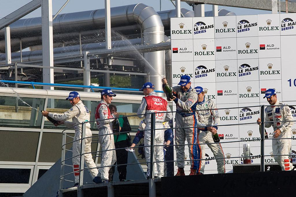 LMP1 Podium    - 2008 Le Mans Series Monza 1000 km