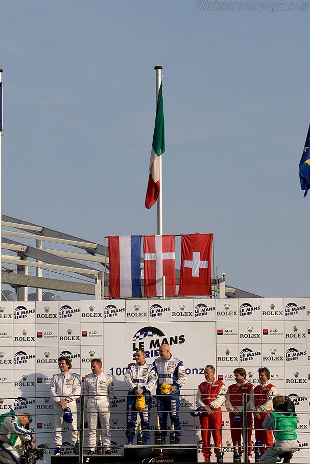 LMP2 Podium    - 2008 Le Mans Series Monza 1000 km