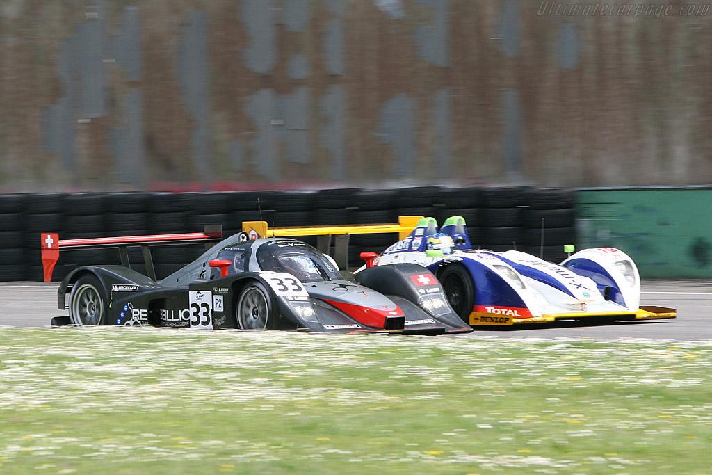 LMP2 vs LMP1 - Chassis: B0880-HU01   - 2008 Le Mans Series Monza 1000 km