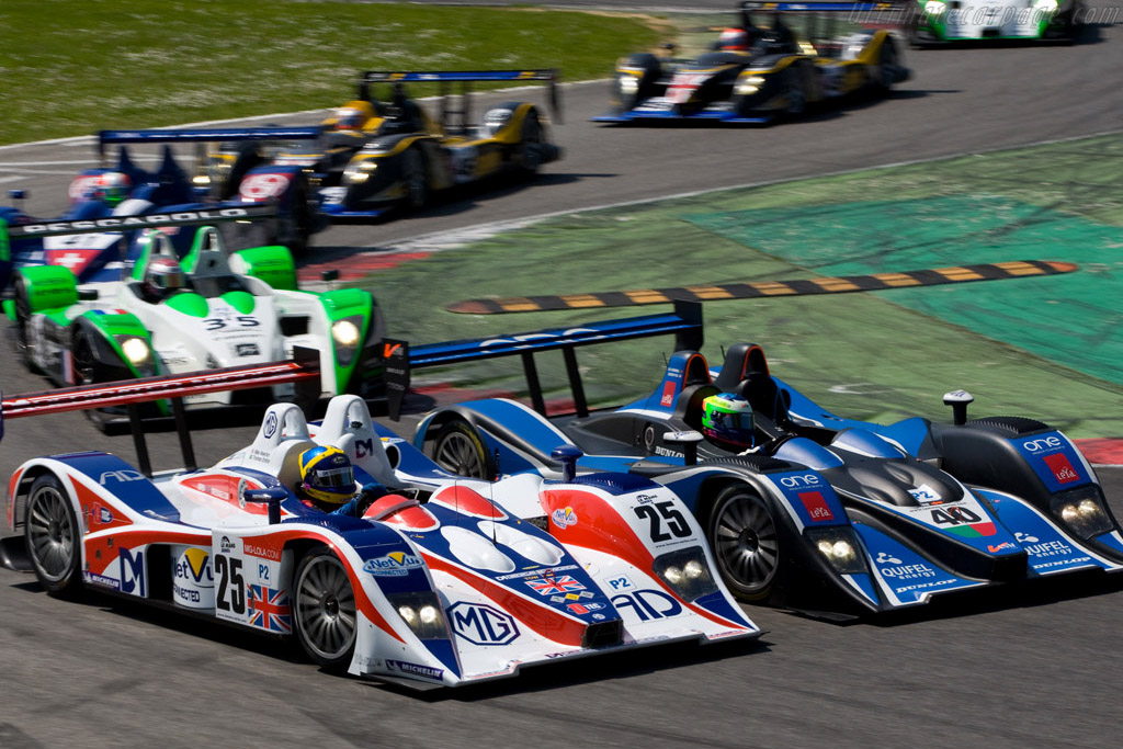 No room to spare - Chassis: B0540-HU05   - 2008 Le Mans Series Monza 1000 km