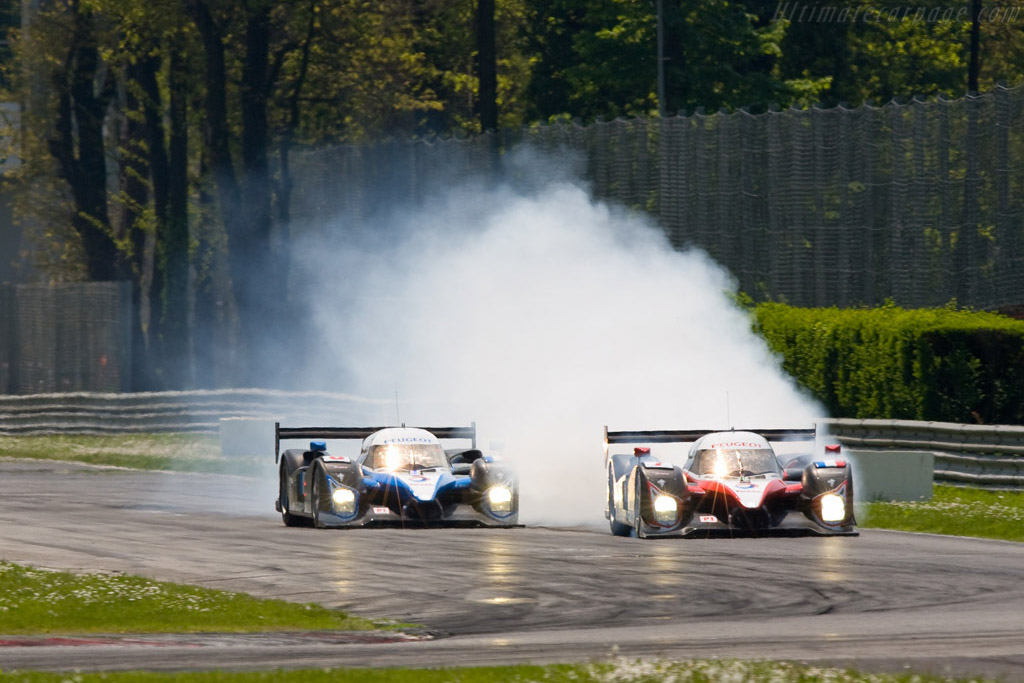 No team orders here - Chassis: 908-02   - 2008 Le Mans Series Monza 1000 km