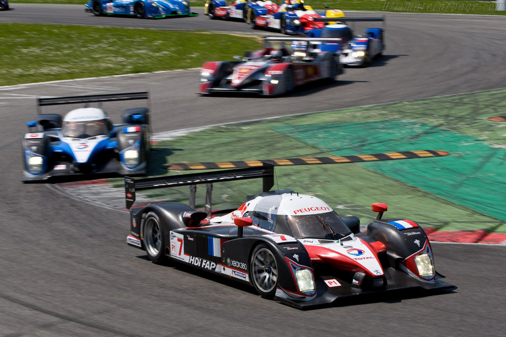 Off they go! - Chassis: 908-02   - 2008 Le Mans Series Monza 1000 km