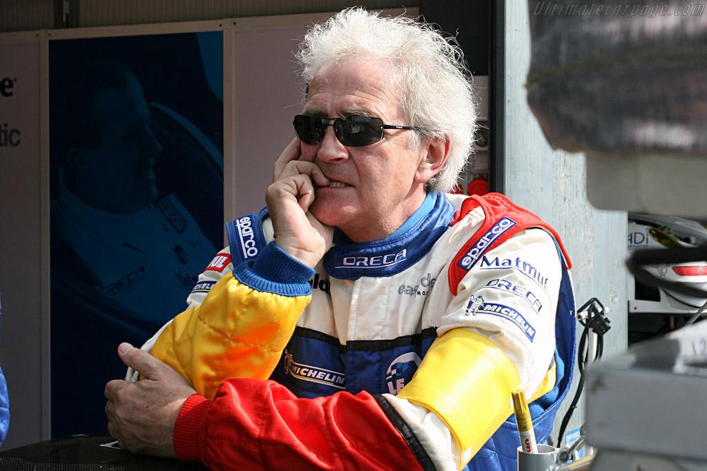 Oreca's Hughes de Chaunac    - 2008 Le Mans Series Monza 1000 km