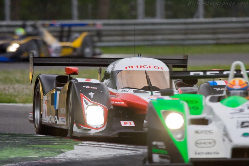 Peugeot in the mix - Chassis: 908-02   - 2008 Le Mans Series Monza 1000 km