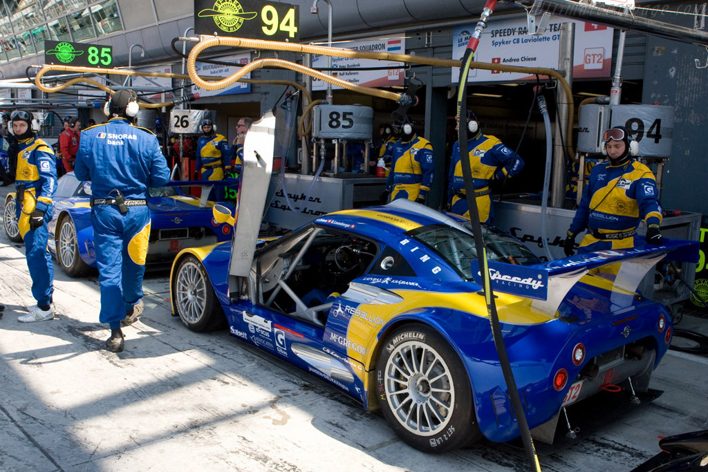 Ready to go - Chassis: XL9AB01G57Z363191   - 2008 Le Mans Series Monza 1000 km
