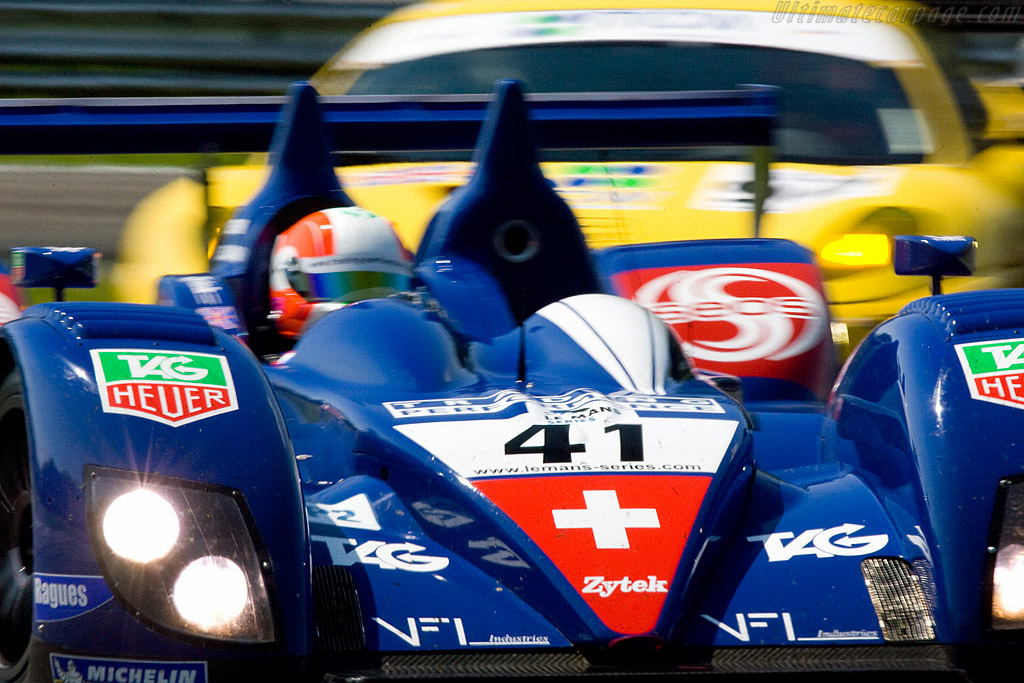 Rudolph the red-nosed Zytek - Chassis: 07S-03   - 2008 Le Mans Series Monza 1000 km