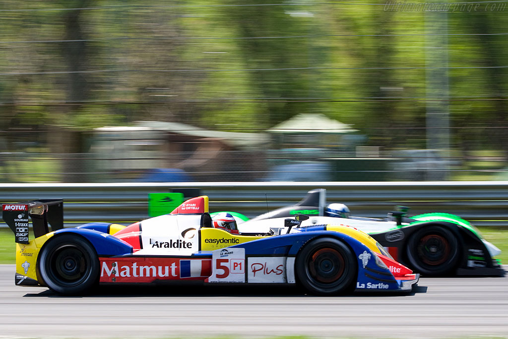 Side by side - Chassis: LC70-03   - 2008 Le Mans Series Monza 1000 km