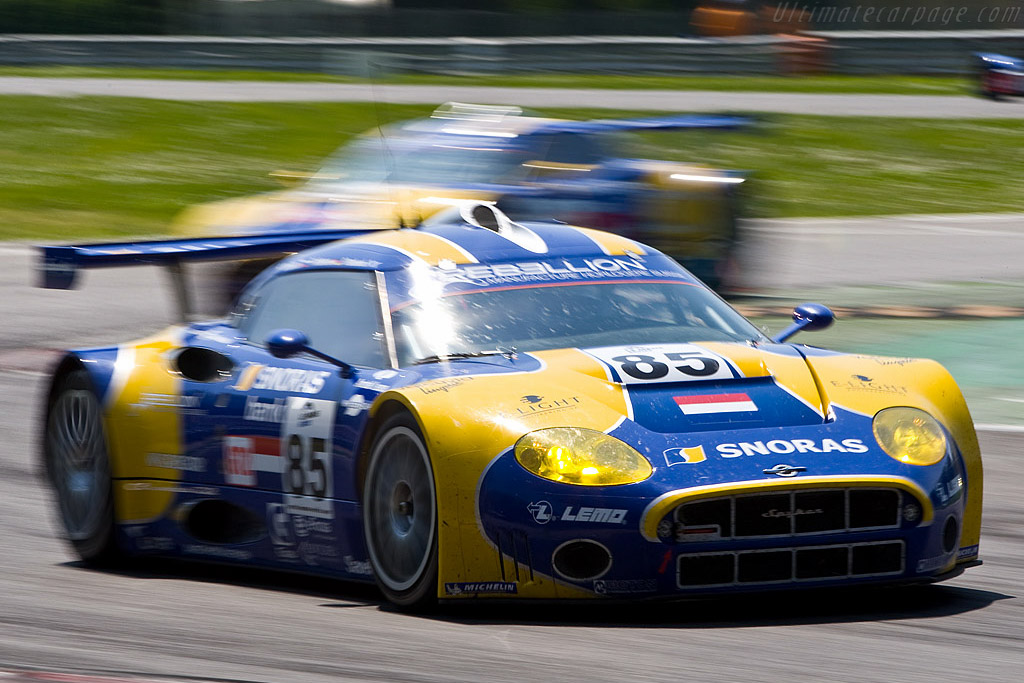 The Spykers were 1.7 seconds faster than last year - Chassis: XL9AB01G37Z363190   - 2008 Le Mans Series Monza 1000 km