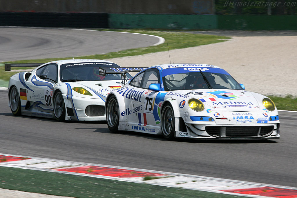 The age old rivalry - Chassis: WP0ZZZ99Z8S799932   - 2008 Le Mans Series Monza 1000 km