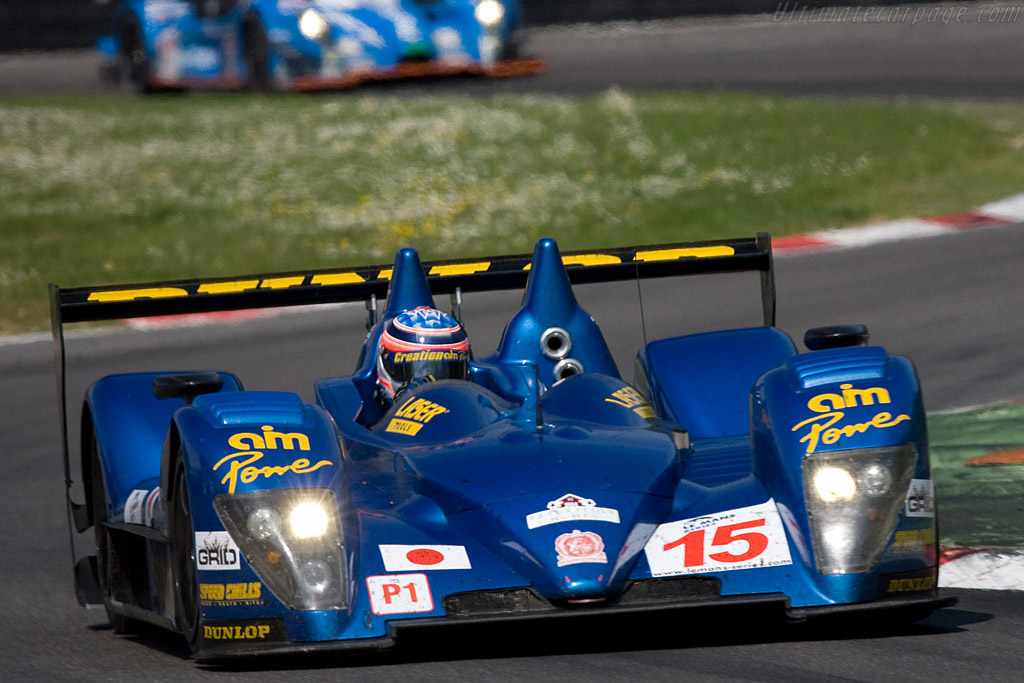 The battle for third overal - Chassis: CA07-002   - 2008 Le Mans Series Monza 1000 km