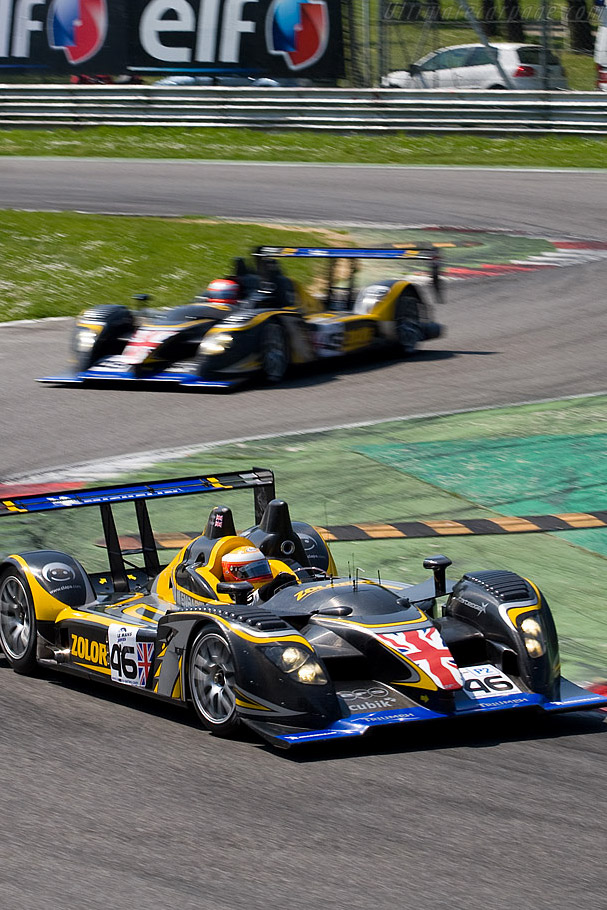 The two Embassy WF01s - Chassis: WF01-01   - 2008 Le Mans Series Monza 1000 km