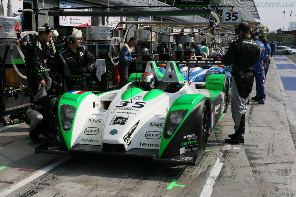 Two of five Pescas - Chassis: 01-06   - 2008 Le Mans Series Monza 1000 km