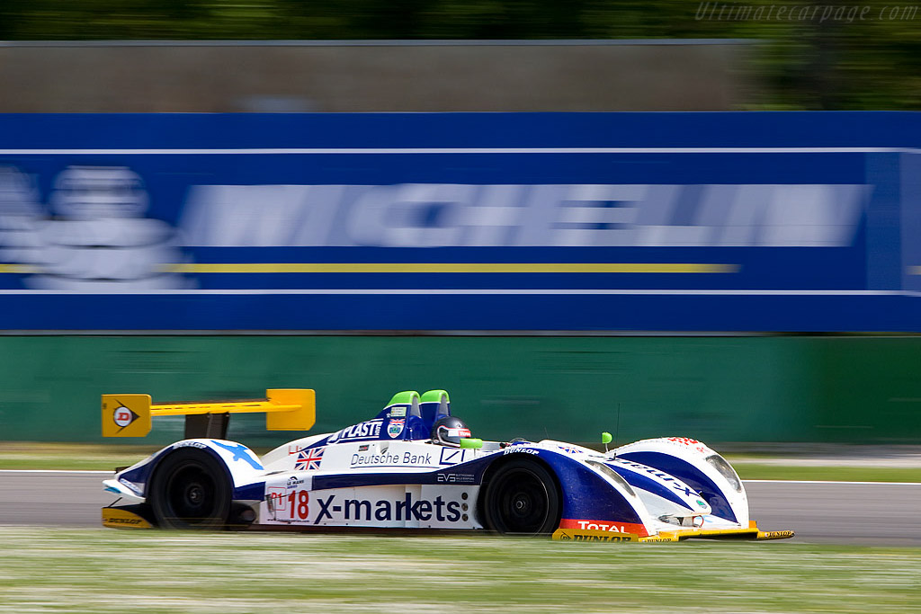 Vanina Ickx through Ascari - Chassis: 01-04   - 2008 Le Mans Series Monza 1000 km