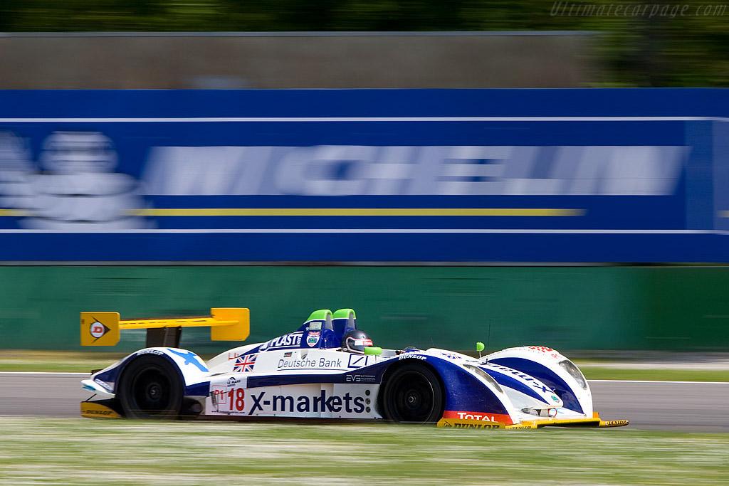 Vanina Ickx through Ascari - Chassis: 01-04   - 2008 Le Mans Series Monza 1000 km