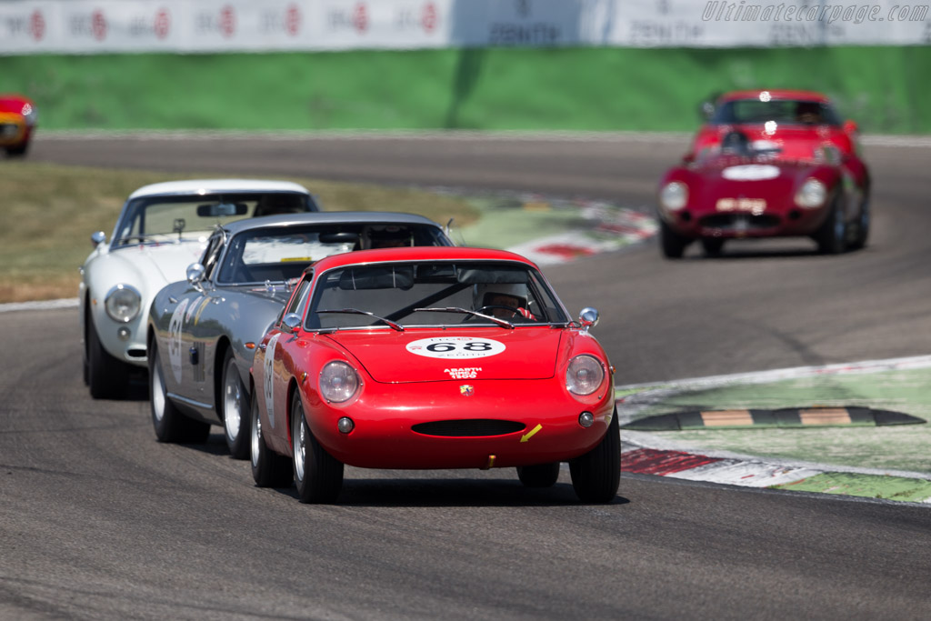 Abarth Simca 1300 - Chassis: 00079 - Driver: Philippe Gertsch - 2015 Monza Historic