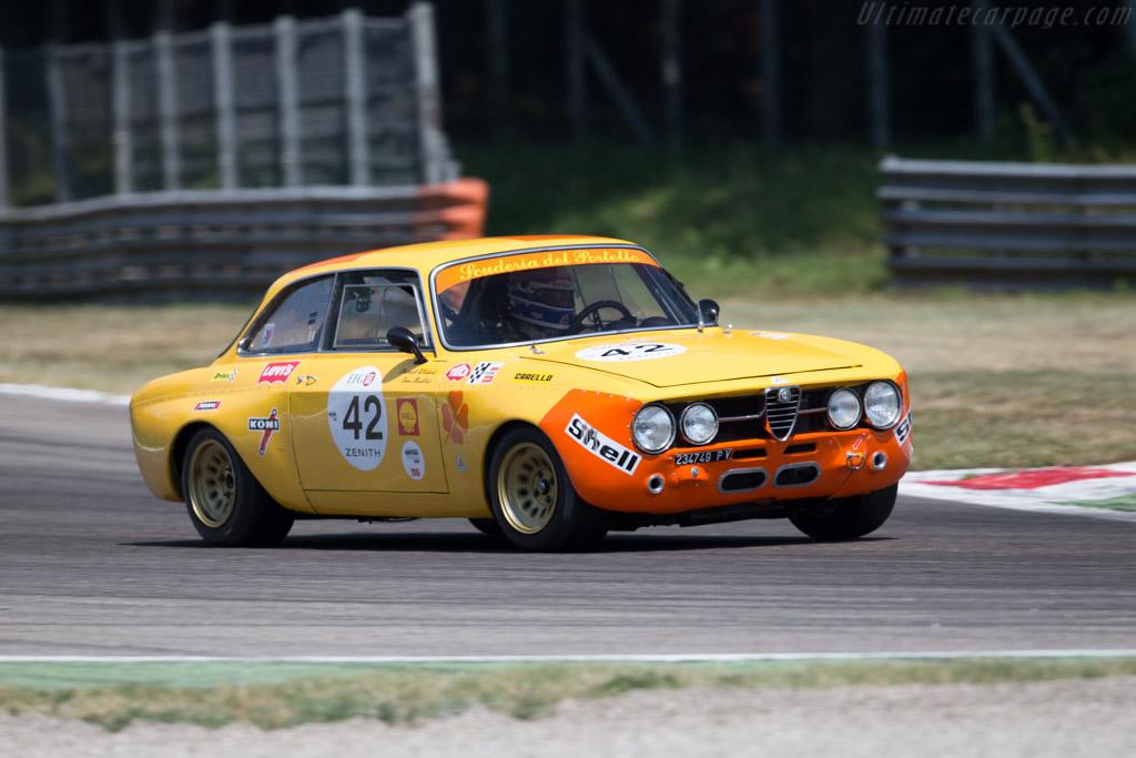 Alfa Romeo 1750 GTAm - Chassis: 1383977 - Driver: Tom Mailliet / Patrick Wilwert  - 2015 Monza Historic