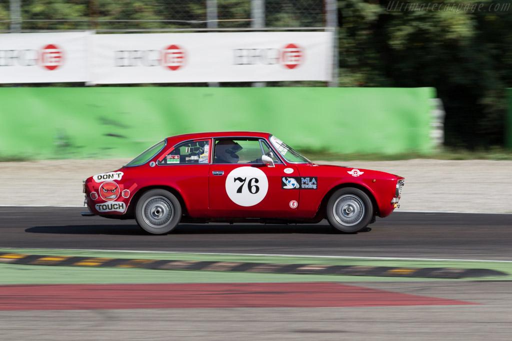 Alfa Romeo 2000 GTV  - Driver: Andrea Oliva / Luigino Menegatti  - 2015 Monza Historic