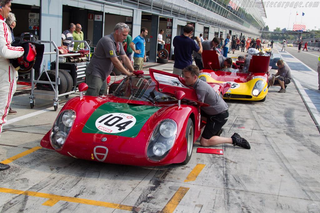 Alfa Romeo 33/2 - Chassis: 75033.019 - Driver: Sam Hancock / Alexander Rittweger  - 2015 Monza Historic