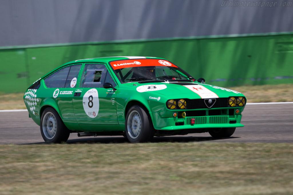 Alfa Romeo GTV6 - Chassis: ZAR116C00*00012666 - Driver: Jean Marc Bussolini / Julien Bussolini  - 2015 Monza Historic