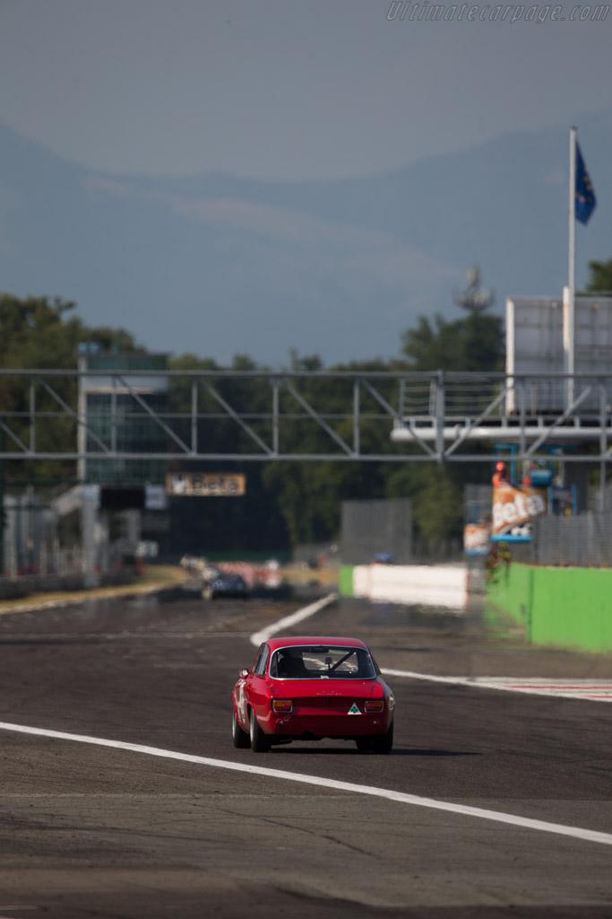 Alfa Romeo Giulia GTA  - Driver: Christian Bouriez  - 2015 Monza Historic