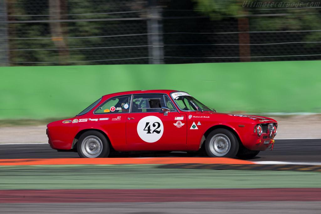 Alfa Romeo Giulia Sprint  - Driver: Falk Mortl / Herwig Roitmayer  - 2015 Monza Historic