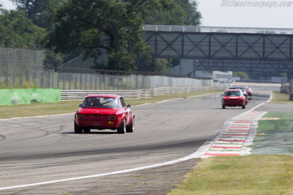 Alfa Romeo Giulia Sprint GTV - Chassis: 1234977 - Driver: Benedetto Cardillo  - 2015 Monza Historic