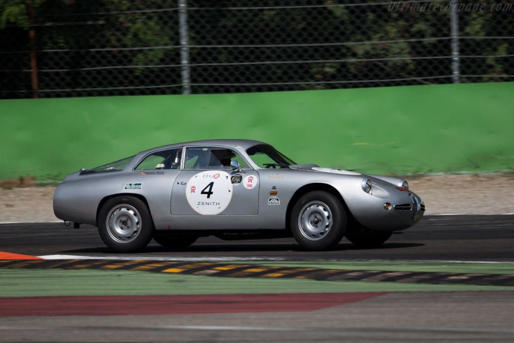 Alfa Romeo Giulietta SZ - Chassis: AR10126 00185 - Driver: Mathias Koerber / Christian Ondrack  - 2015 Monza Historic