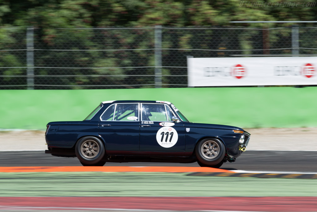 BMW 1800 TI - Chassis: 1717449 - Driver: John Clark / Alisdair McCaig  - 2015 Monza Historic
