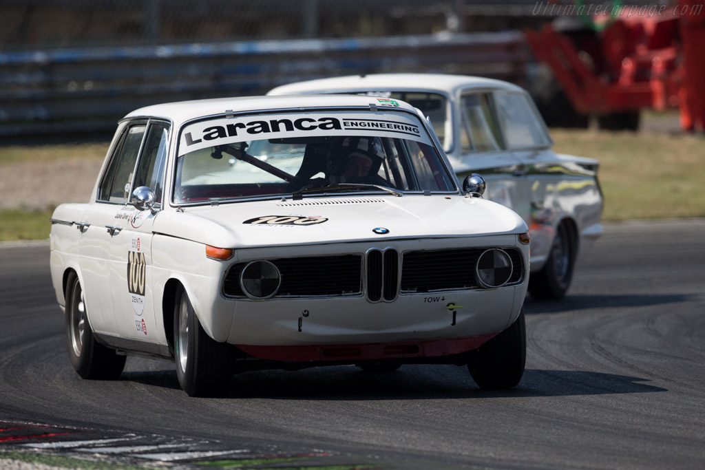 BMW 1800 TiSA - Chassis: 995193 - Driver: Richard Shaw / Jackie Oliver  - 2015 Monza Historic