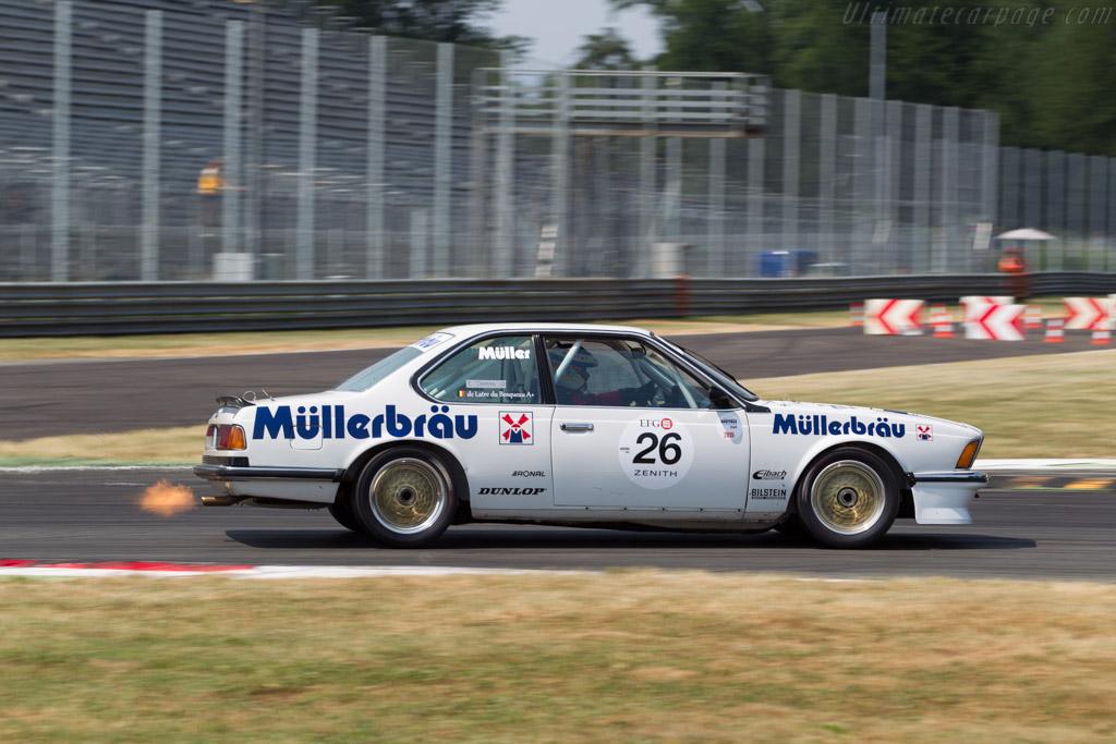 BMW 635 CSI - Chassis: E24 RA2-49 - Driver: Thierry de Latre Bosqueau  - 2015 Monza Historic