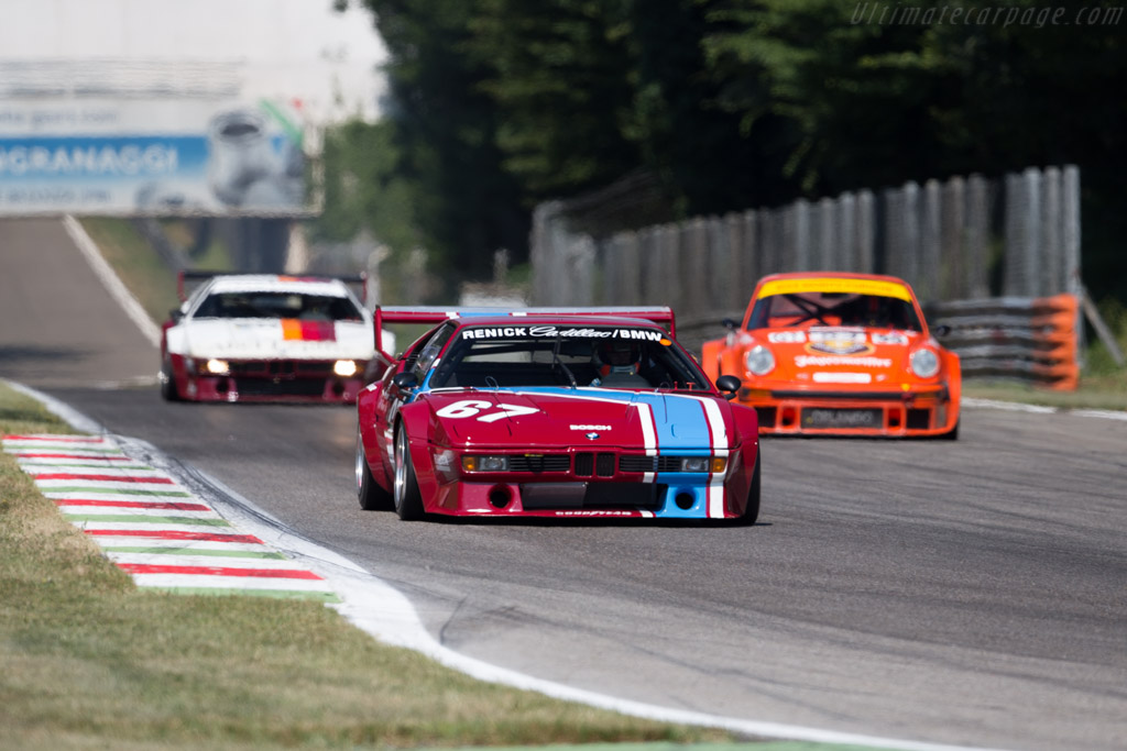 BMW M1 - Chassis: 4301195 - Driver: Alexander Rittweger  - 2015 Monza Historic