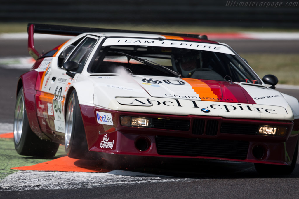 BMW M1 - Chassis: 4301063 - Driver: Peter Mulder / Patrick Simon  - 2015 Monza Historic