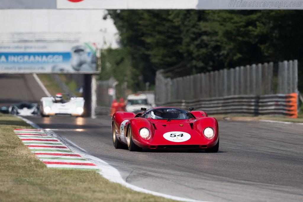 Ferrari 312 P - Chassis: 0872 - Entrant: Arnold Meier - Driver: David Franklin  - 2015 Monza Historic