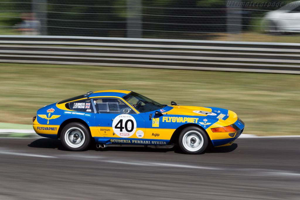 Ferrari 365 GTB/4 - Chassis: 13219 - Driver: Tim Summers / James Cottingham  - 2015 Monza Historic