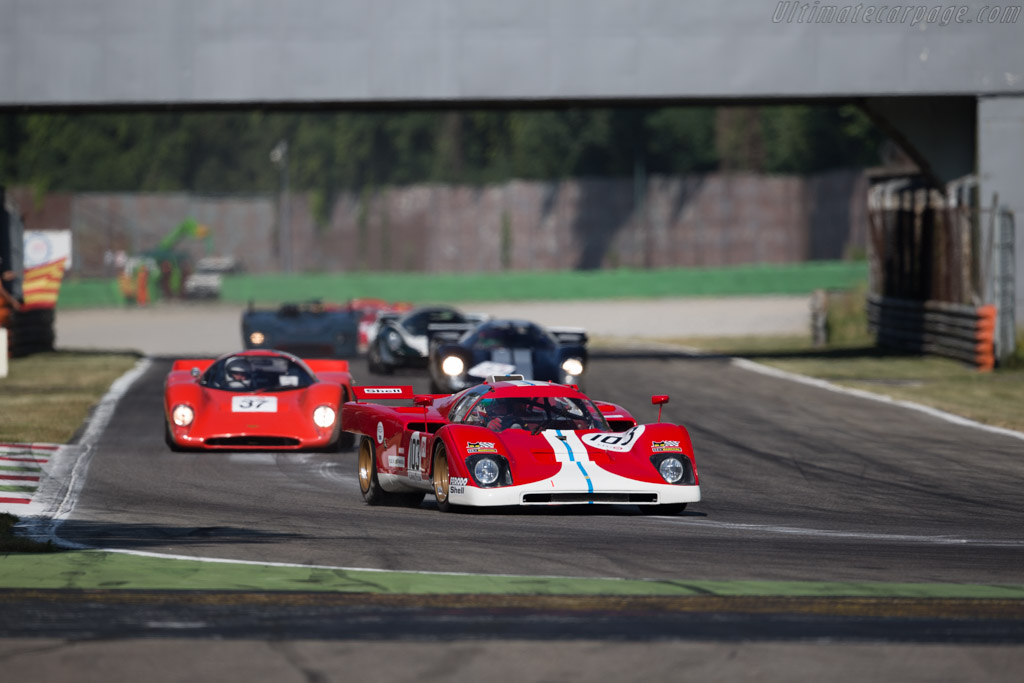 Ferrari 512M - Chassis: 1024 - Driver: Steven Read / Giovanni Lavaggi  - 2015 Monza Historic