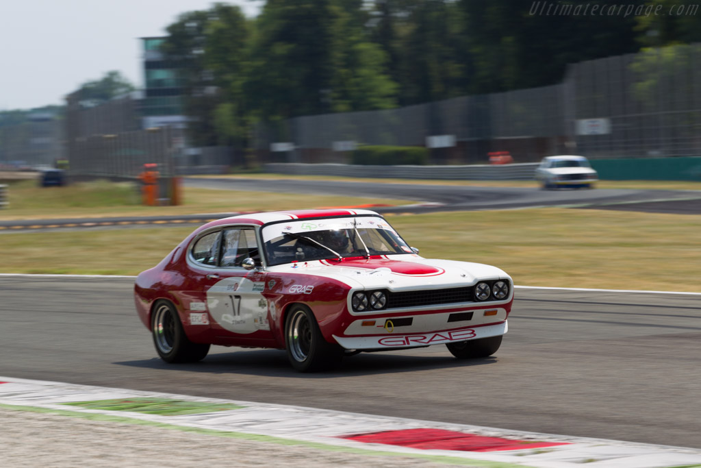 Ford Capri 2600 RS  - Driver: Steve Dance  - 2015 Monza Historic