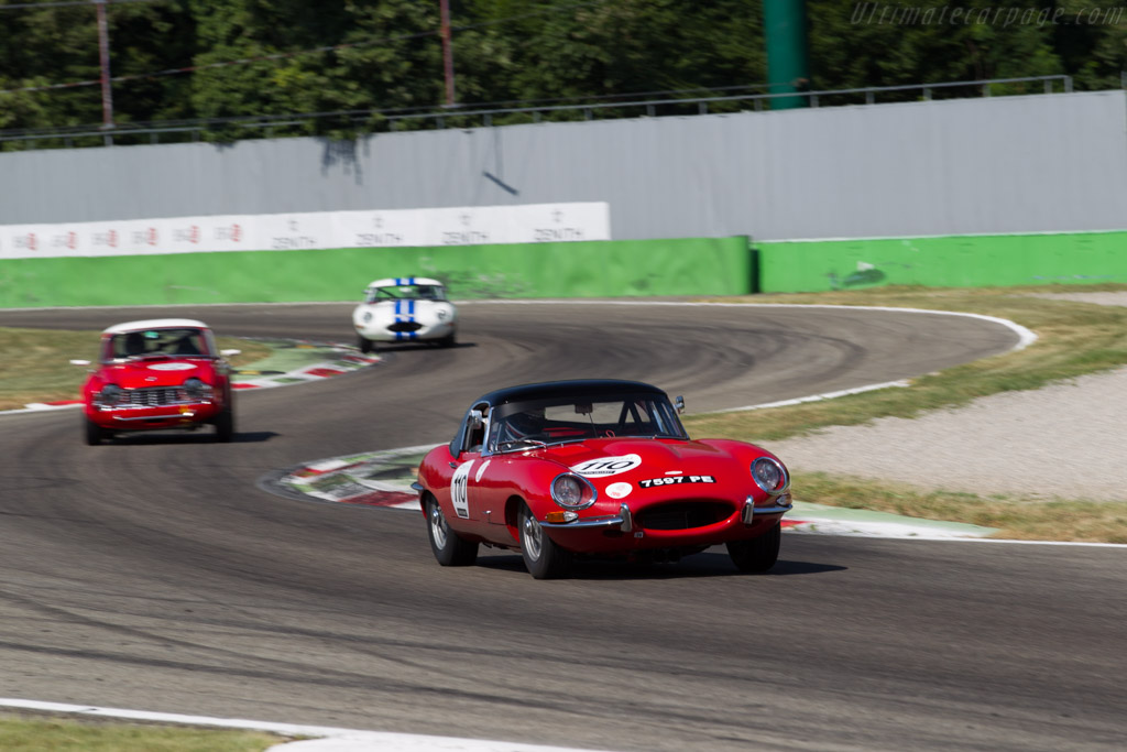 Jaguar E-Type - Chassis: 850148 - Driver: Dennis Singleton / Kevin Jones  - 2015 Monza Historic