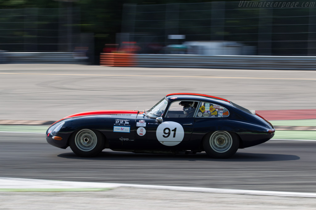Jaguar E-Type - Chassis: 890633 - Driver: Frederic Lemos  - 2015 Monza Historic