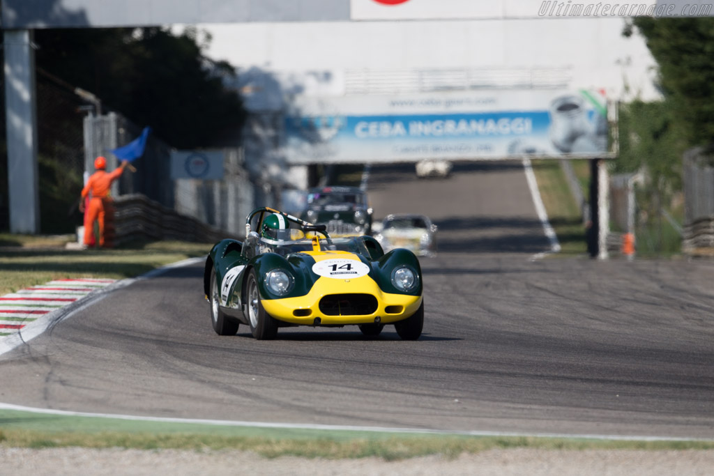 Lister Knobbly Jaguar  - Driver: Jan Gijzen / Anthony Schrauwen  - 2015 Monza Historic