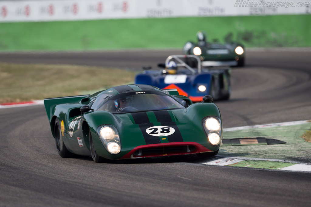 Lola T70 Mk3B Coupe - Chassis: SL76/147 - Driver: David Hart  - 2015 Monza Historic